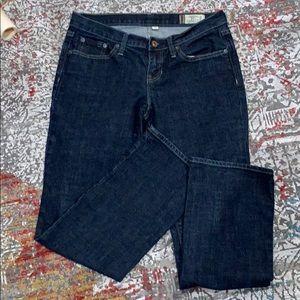 GAP straight leg jeans. Size 6